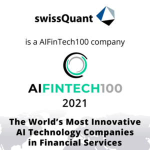 swissQuant is a AIFintech100 Company - thumbnail